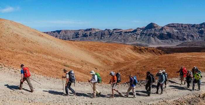 'Tenerife Walking Festival' contará con participantes de toda Europa