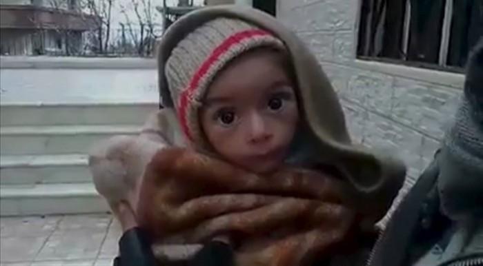 Niño sirio. / REUTERS