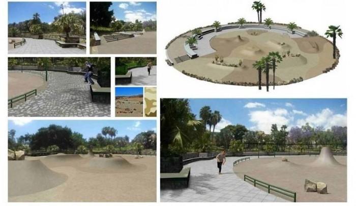 Proyecto de 'skatepark'. / CEDIDA