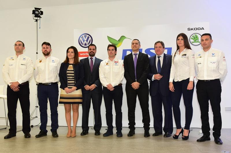 Presentación del equipo DISA Copi Sport. | SERGIO MÉNDEZ