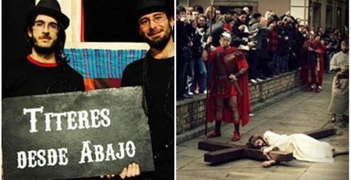 IUC utiliza la Semana Santana para salir en defensa de los titiriteros que fueron encarcelados en Madrid