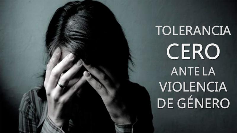 tolerancia cero violencia genero