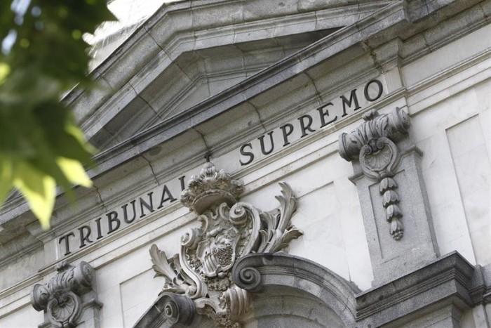 Imagen de archivo de la sede del Tribunal Supremo, en Madrid. / europa press