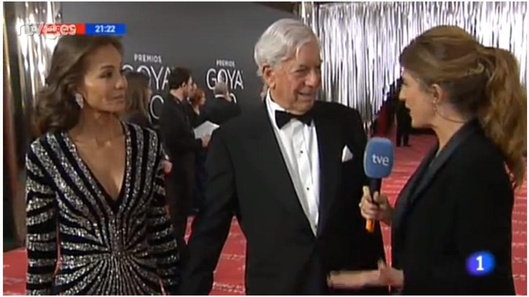 Mario Vargas Llosa e Isabel Preysler. / DA