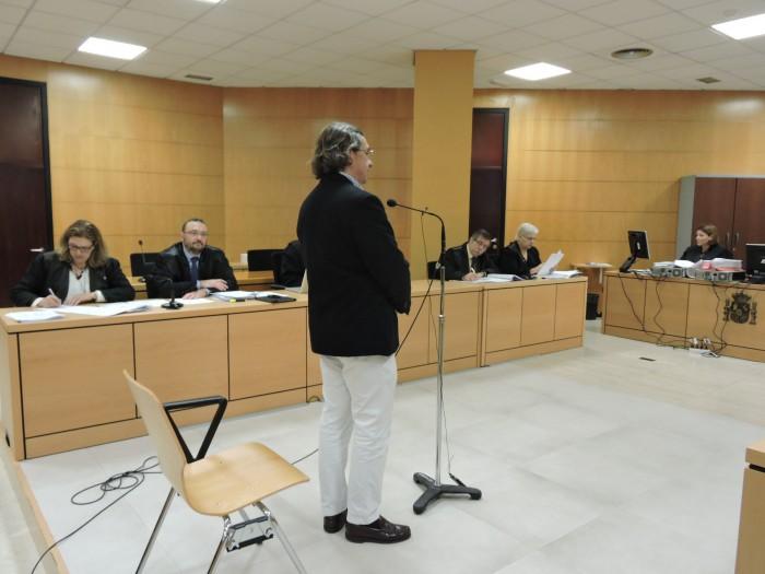 Luis Eugenio Gutiérrez, uno de los juristas urbanistas contratados por los Ansorena / NORCHI