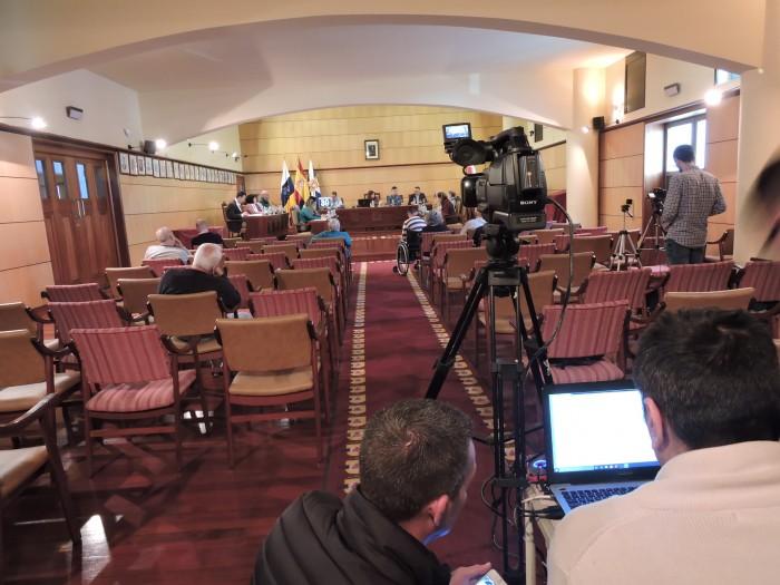 El Pleno fue retransmitido en directo a través de la web municipal / NORCHI