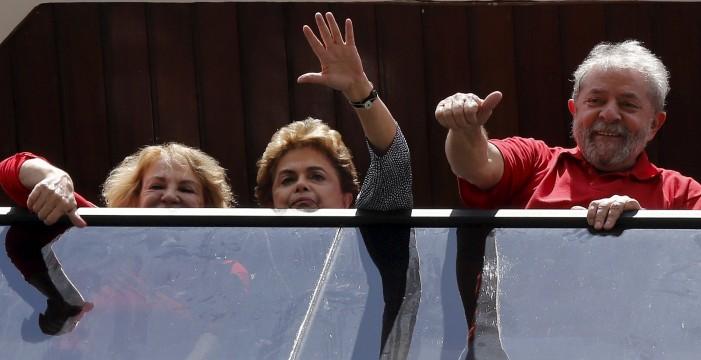 Dilma Rousseff visita a Lula para expresarle su solidaridad
