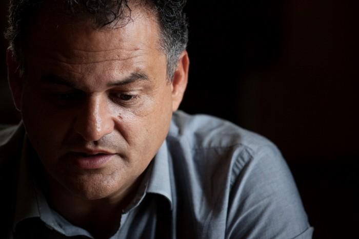 El alcalde de La Laguna, José Alberto Díaz. / ANDRÉS GUTIÉRREZ