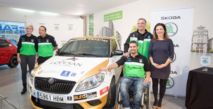 El equipo Sin Barreras Sport Driving presenta su nueva temporada de la mano de ŠKODA Canarias
