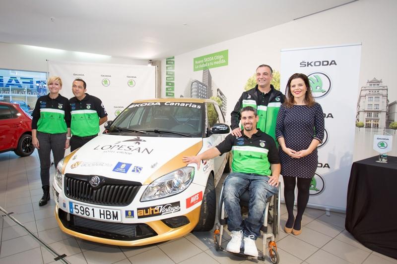 Club Sin Barreras Sport Driving Skoda Canarias