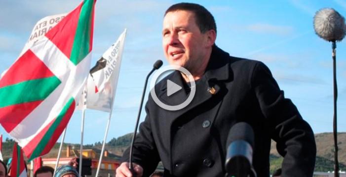 """Otegi quiere abrir en Euskadi """"el segundo frente"""" independentista al Estado"""