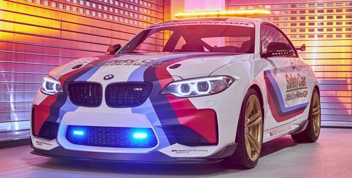 BMW M, la flota de Vehículos de Seguridad de MotoGP