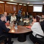 Una reunión del Consejo de Gobierno de Canarias, bajo la presidencia de Fernando Clavijo. / DA