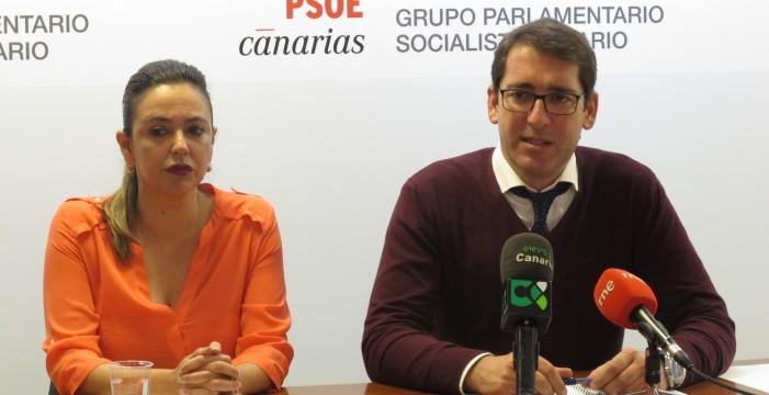 """El PSOE se sacude las """"prisas"""" de CC y analiza """"a fondo"""" la ley del suelo"""