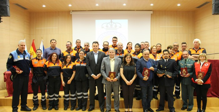 Candelaria conmemora el Día Internacional del Voluntariado de Protección Civil