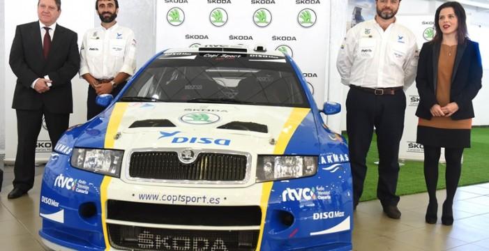 Alonso Viera (Skoda Fabia) luchará por llevar el único WRC a los puestos altos frente a la flota de GT