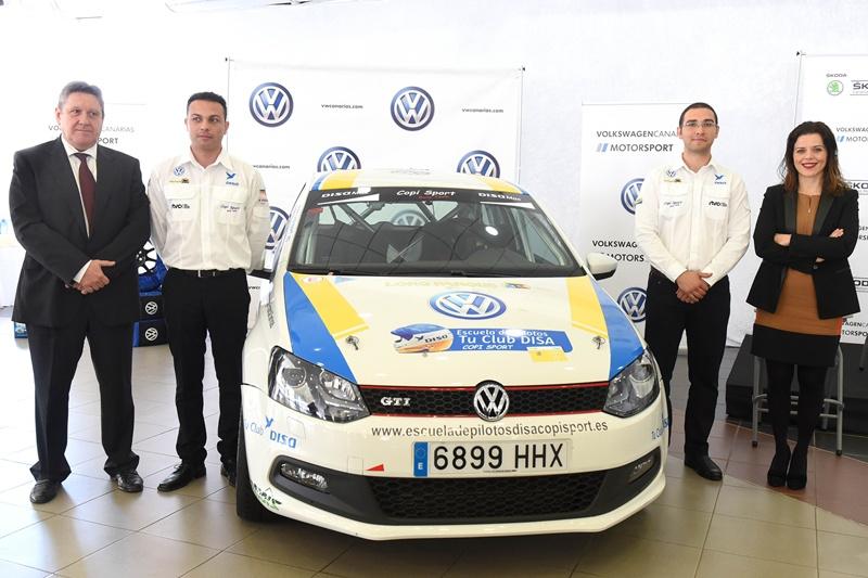 DISA Copi Sport Domingo Alonso Volkswagen GTI Antonio Acosta y Yeray Mujica