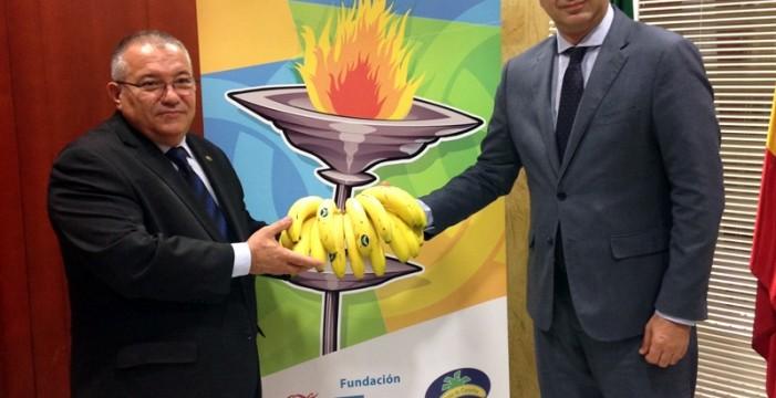 Andalucía Olímpica y Plátano de Canarias se alían en la difusión de los valores olímpicos y hábitos de alimentación saludable