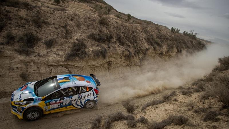 Gustavo Sosa y Rogelio Peñate Ford Fiesta R5 Lorca