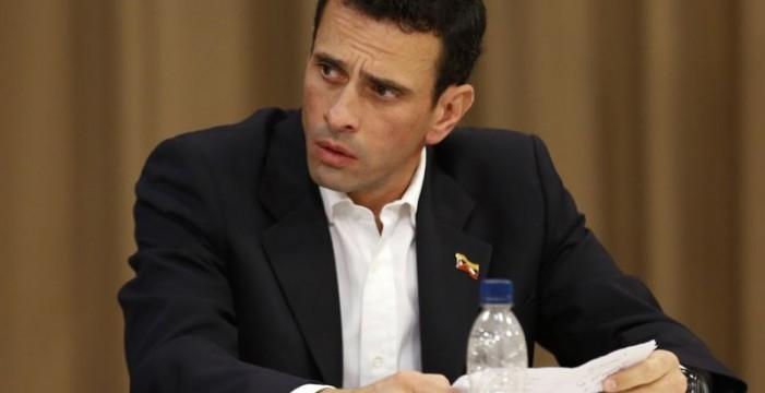"""Capriles acusa a los magistrados de creerse """"por encima del pueblo venezolano"""""""