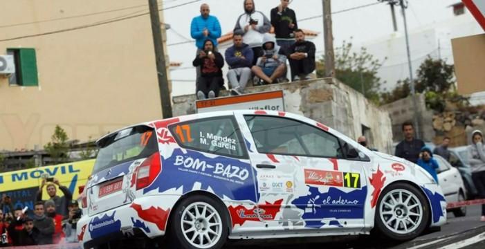 Iván Méndez y Mahy García estarán en el Rally Islas Canarias