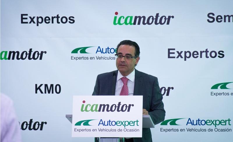 Juan Carlos Fernández, gerente de Icamotor. | DA