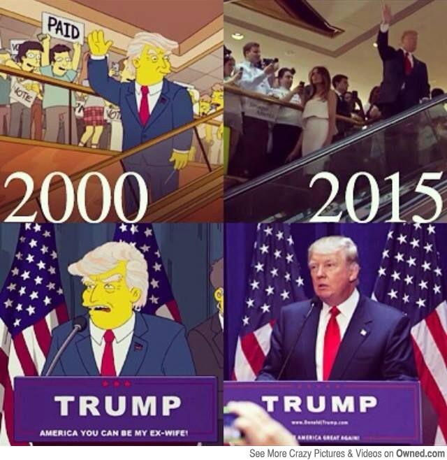 10 predicciones de 'Los Simpsons'