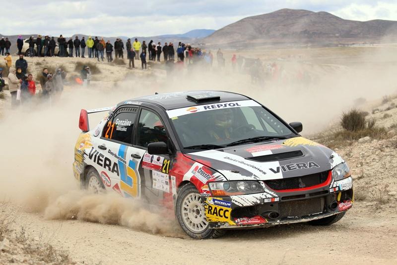 Marcos Gonzalez Eduardo Gonzalez Mitsubishi Lancer Evo IX