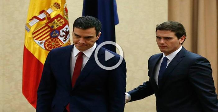 PSOE y Ciudadanos seguirán negociando juntos