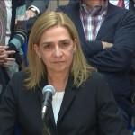 Infanta Cristina. / REUTERS