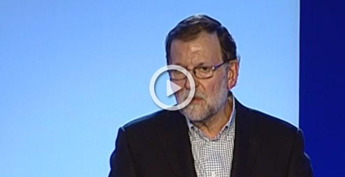 Rajoy exige a Sánchez que si no acepta su oferta, al menos le deje gobernar