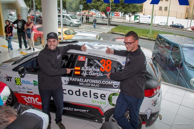 Trofeo Clio R3T Canarias Surhayen Pernía