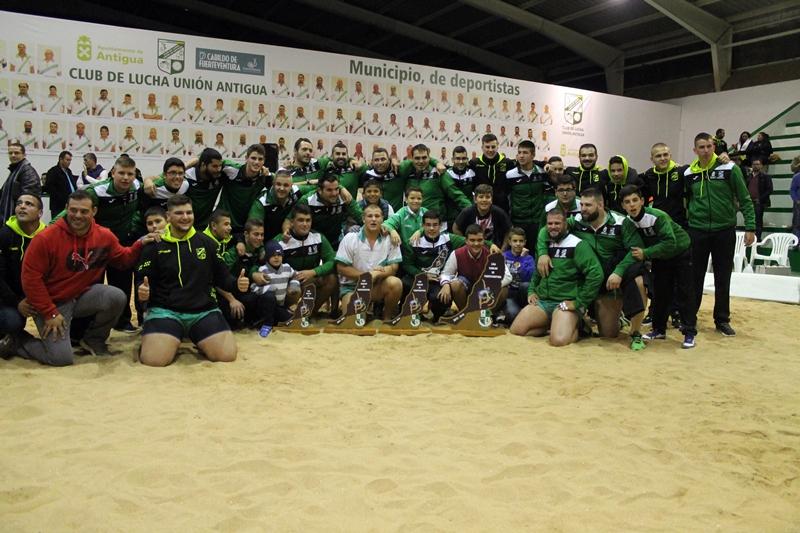 Unión Antigua, Campeón de la Liga Insular de Fuerteventura. | DA
