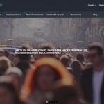 Portal web de la aplicación papal. | DA