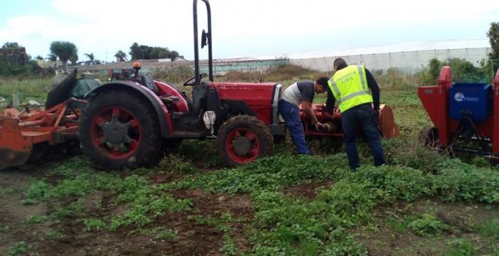 Investigan a ocho personas por robos en explotaciones agrícolas en Santa Úrsula