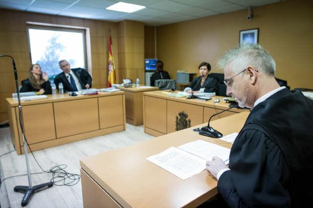 Imagen de la primera sesión del civil, celebrado la semana pasada. / ANDRÉS GUTIÉRREZ
