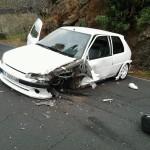 El peor parado fue un Peugeot de color blanco. / L@s Jardiner@s