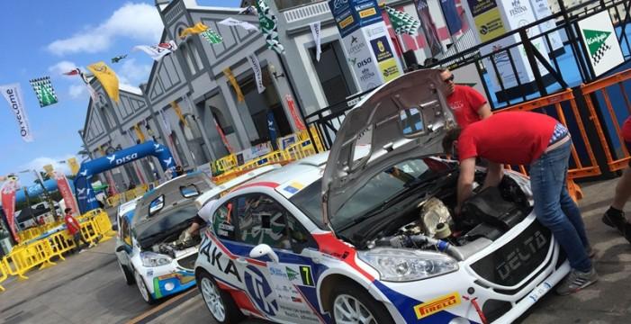 Arranca el espectáculo en Gran Canaria con el Qualifying Stage y el shakedown